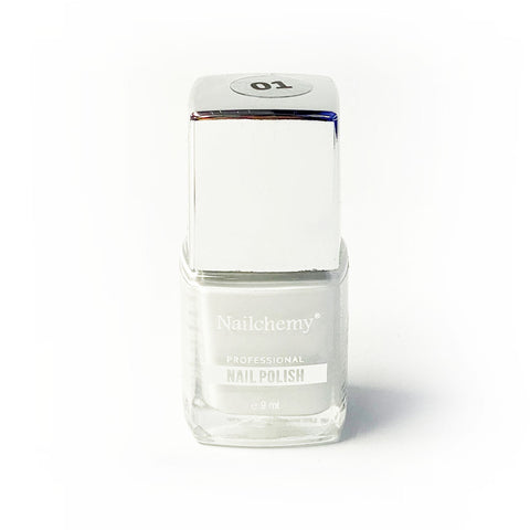 Nailchemy Nail Polish - 01 - White - 9ml