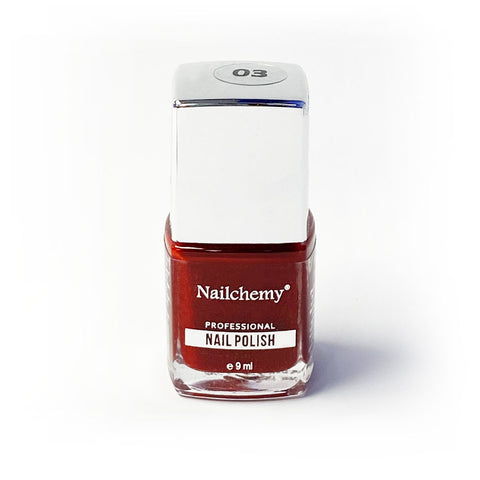 Nailchemy Nail Polish - 03 - Red - 9ml