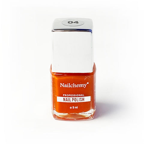 Nailchemy Nail Polish - 04 - Orange - 9ml