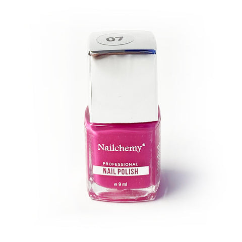 Nailchemy Nail Polish - 07 - Hot Pink- 9ml