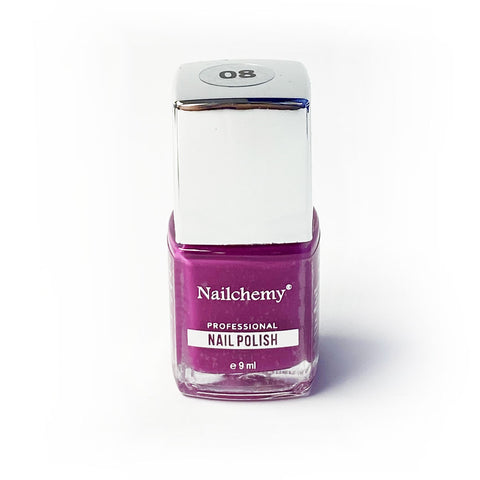 Nailchemy Nail Polish - 08 - Purple- 9ml