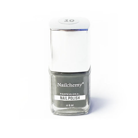 Nailchemy Nail Polish - 10 - Grey - 9ml