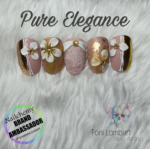 ONLINE Pure Elegance Nail Art Workshop - with Toni