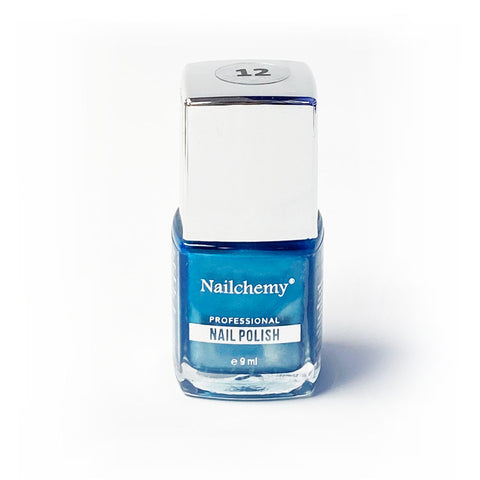 Nailchemy Nail Polish - 12 - Metallic Blue - 9ml