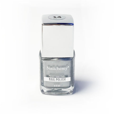 Nailchemy Nail Polish - 14 - Metallic Silver - 9ml