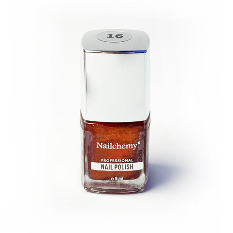 Nailchemy Nail Polish - 16 - Metallic Copper - 9ml