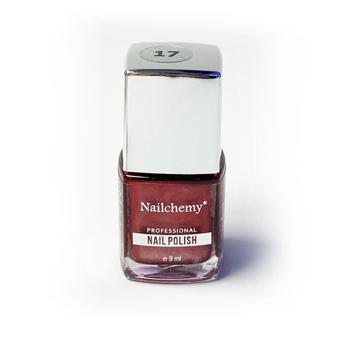 Nailchemy Nail Polish - 17 - Metallic Burgundy - 9ml