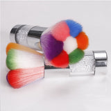 Rainbow Duster Brush