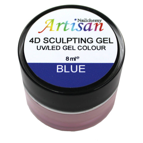Artisan 4D Sculpting Gel - Blue 8ml