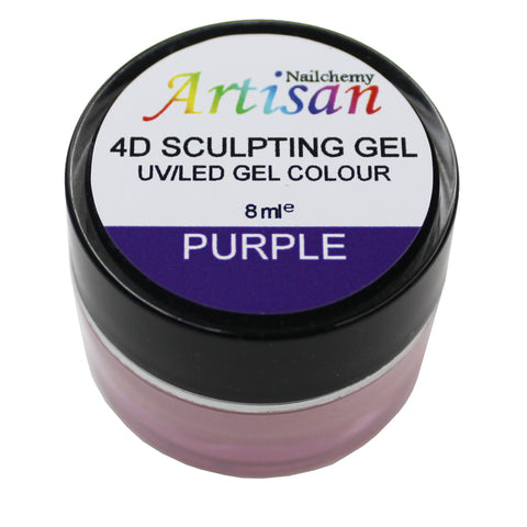 Artisan 4D Sculpting Gel - Purple 8ml