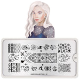 Snow 01 Stamping Plate - MoYou London