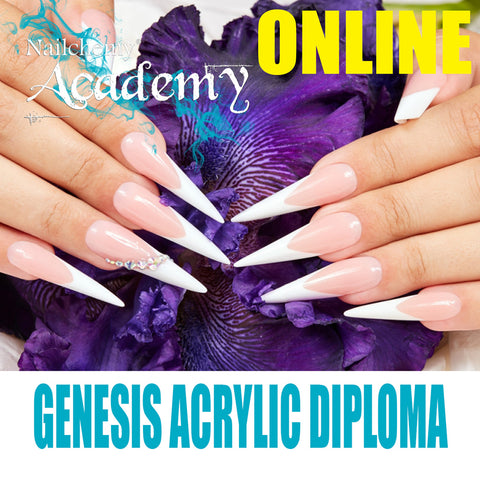 ONLINE Genesis Acrylic Nails Refresher Course