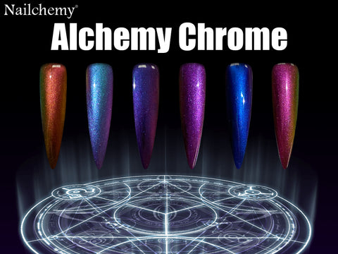 Alchemy Chrome - Full Set - Metals x 6