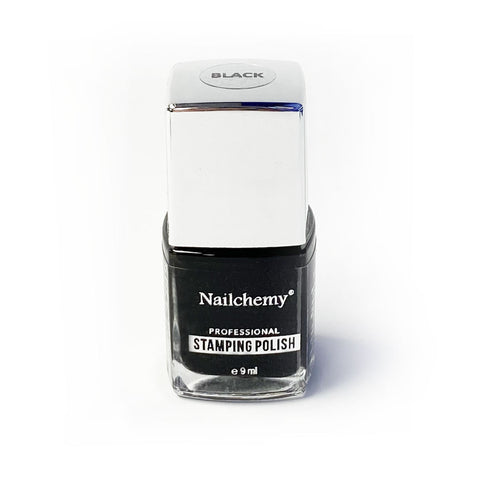 Black - Stamping Polish - Nailchemy