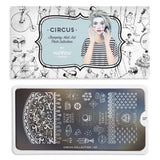 Circus 07 Stamping Plate - MoYou London