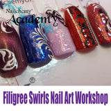 Filigree Swirls Nail Art Workshop