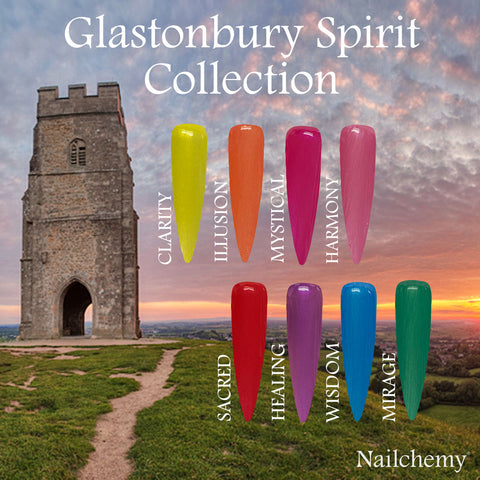 Glastonbury Spirit Soak Off Gel Polish - Full Set