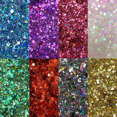 Star Multi-Size Glitter Collection - Full Set