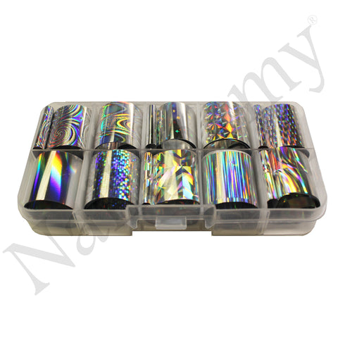 Holographic Foils - 10 x Colours
