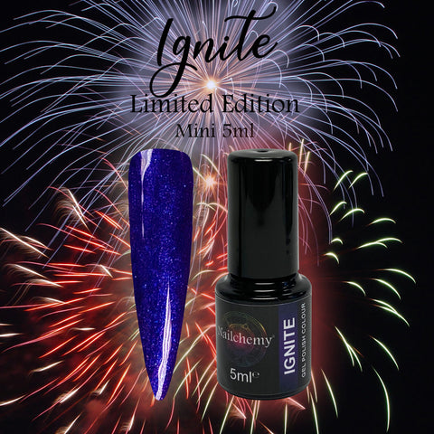 Ignite (Limited Edition) Soak Off Gel Polish - Mini 5ml
