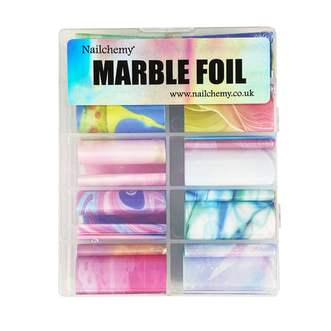 Marble Foils - 10 x Colours