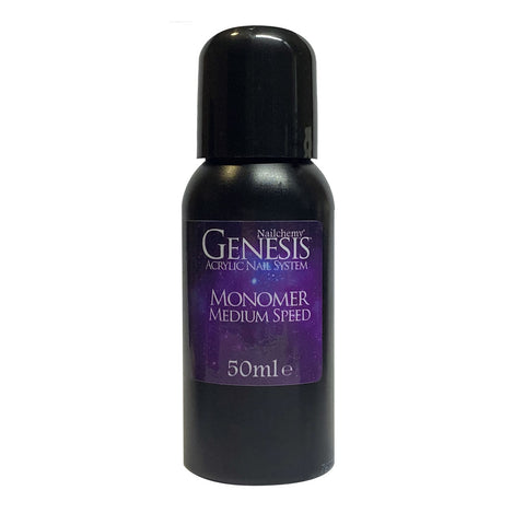 Medium Speed Liquid Monomer - Genesis Acrylic Nail System