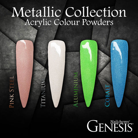Metallic Full Collection - Genesis Coloured Acrylic