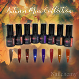 Autumn Mini Collection - Soak Off Gel Polish - (8 x 5ml)