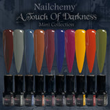 A Touch Of Darkness - Soak Off Gel Polish - Full Set (x10 Colours)