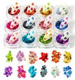 Maple Leaf Glitter x 12 colours
