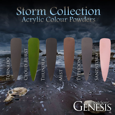 Storm Full Collection - Genesis Coloured Acrylic