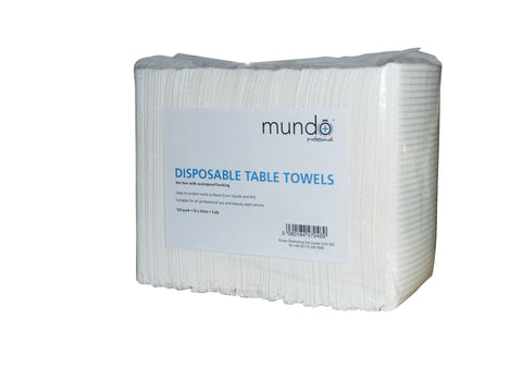 Mundo Disposable Table Towels - 125 Pack