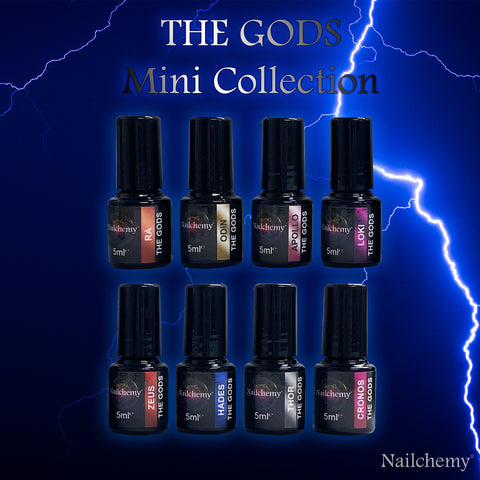 The Gods - Mini Collection (8 x 5ml)
