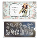 Explorer 12 Stamping Plate - MoYou London