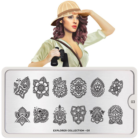 Explorer 03 Stamping Plate - MoYou London