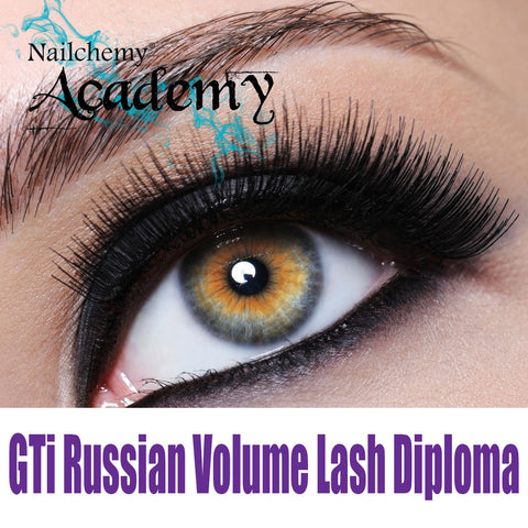 GTi Russian Volume Eyelash Extensions Diploma