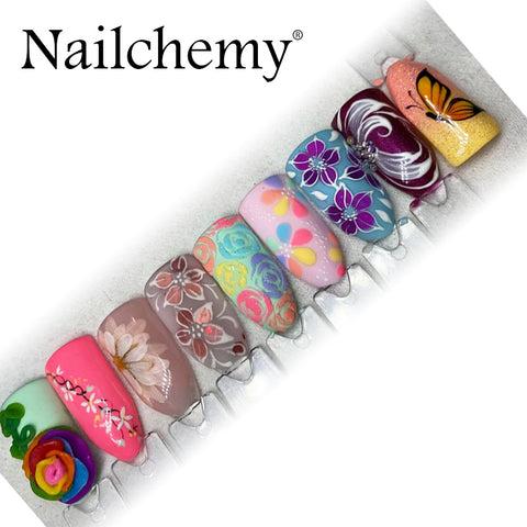 ONLINE Spring Nail Art Course - with Hayley