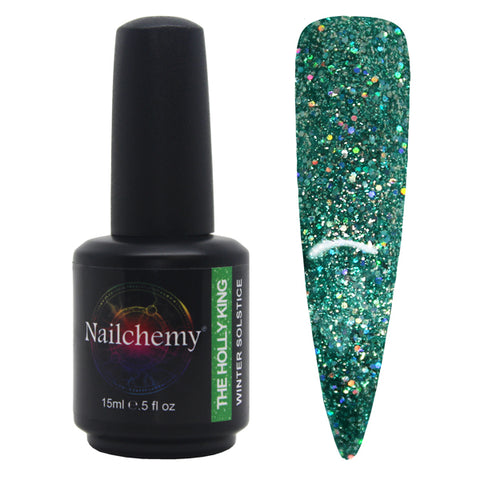 The Holly King - Winter Solstice - Soak Off Gel Polish - 15ml