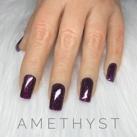 Amethyst - Precious Stones - Soak Off Gel Polish - 15ml