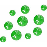 Neon Green - Nailchemy Crystals Mixed Sizes - Pack of 100