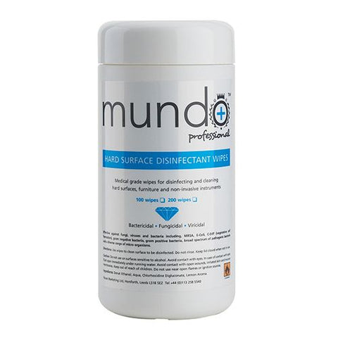 Mundo Disinfectant Wipes 100