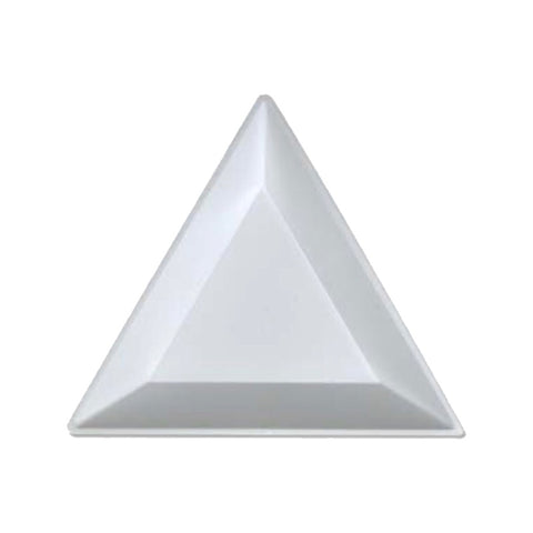 Triangular Glitter Nail Art Catch Tray x 2