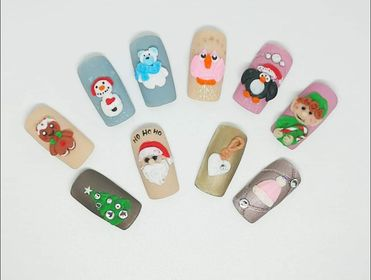 ONLINE Winter 4D Gel (Plasteline) - Nail Art Course with Carla Mitchell