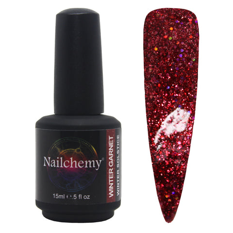 Winter Garnet - Winter Solstice - Soak Off Gel Polish - 15ml