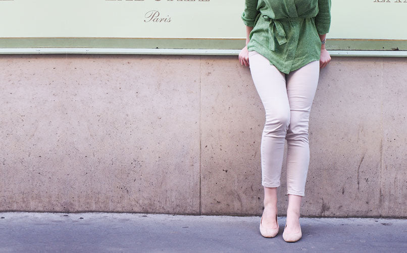 Paris, Poppy & Ballet Flats