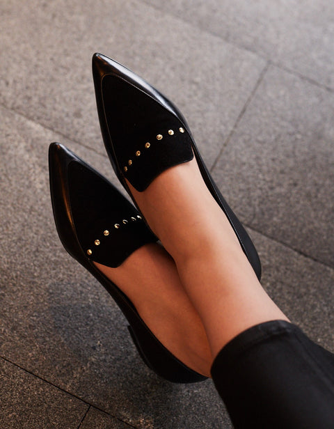 Ana Black Loafers