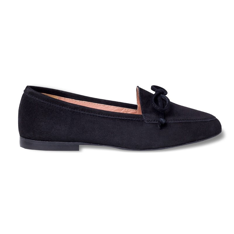Bari Black Loafers