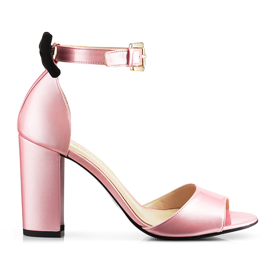 Candy Pink Sandals Italian Soft Leather Zurbano