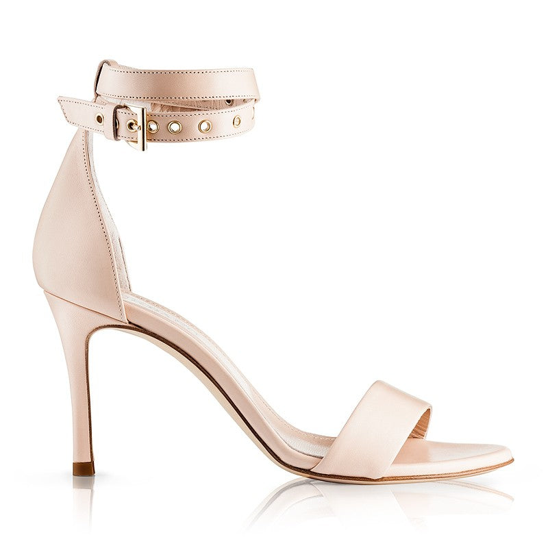 Lily Nude Sandals Goat Leather Zurbano