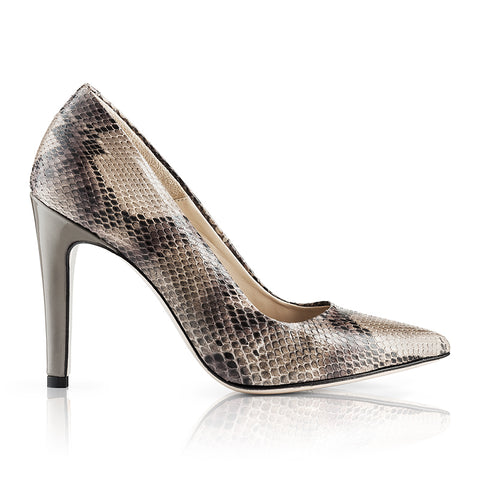 Melano Python Pumps Leather Skin